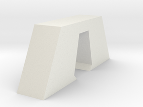 Aqueduct Pillar in White Natural Versatile Plastic