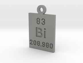 Bi Periodic Pendant in Gray PA12