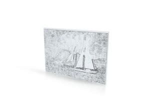 SHAPEWAYS PHOTO SHAPER Bora Bora in White Natural Versatile Plastic
