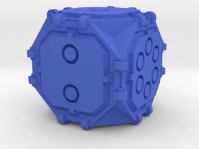 Octogrammic D6 Morphic in Blue Processed Versatile Plastic