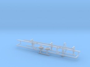 1/50th Combine Head Trailer in Smooth Fine Detail Plastic
