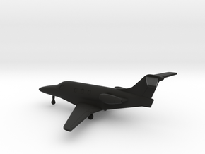 Hawker Beechcraft 390 Premier 1A in Black Natural Versatile Plastic: 1:200
