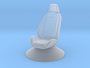 Printle Thing Chair 025 - 1/64 in Smooth Fine Detail Plastic