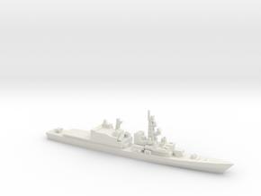 Asagiri-class destroyer, 1/1800 in White Natural Versatile Plastic