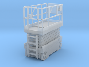 Scissor Lift 1-87 HO Scale Assembled in Smooth Fine Detail Plastic