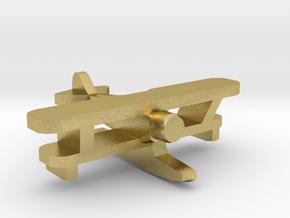 IMAM Ro.43 Floatplane 1:700 WW2 in Natural Brass