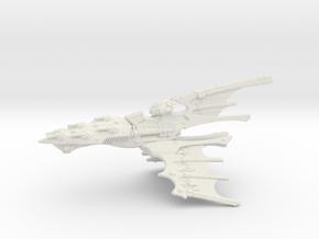 Eldar Capital Ship - Concept 2  in White Natural Versatile Plastic