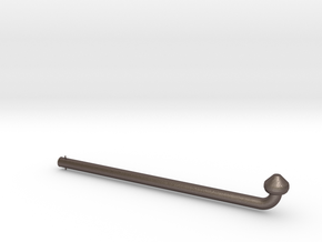 Gaffi Stick in Polished Bronzed-Silver Steel