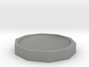 Hemp Bowl 125mm in Gray Professional Plastic
