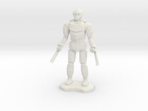 Assassin Golem  in White Natural Versatile Plastic
