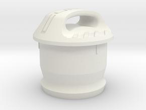 Cupra 12V Socket Cover in White Natural Versatile Plastic