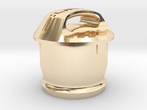 Cupra 12V Socket Cover in 14K Yellow Gold