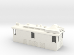 On30 29 Ton Box Cab Body in White Processed Versatile Plastic
