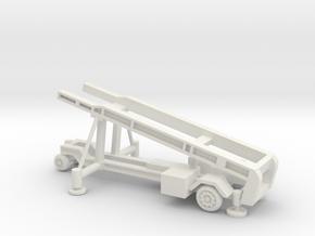 1/96 Scale MK4 Regulus Missile Launcher in White Natural Versatile Plastic