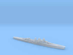 Giuseppe Garibaldi light cruiser 1:2400 WW2 in Smoothest Fine Detail Plastic
