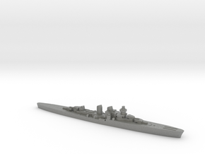 Giuseppe Garibaldi light cruiser 1:2400 WW2 in Gray PA12