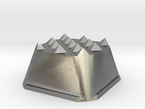 Truffle Shuffle 2 in Natural Silver