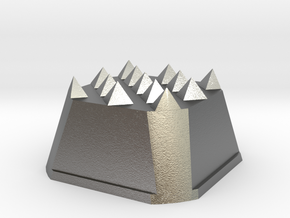 Truffle Shuffle 3 in Natural Silver