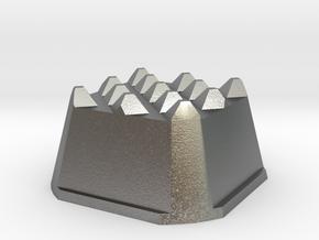 Truffle Shuffle 4a in Natural Silver
