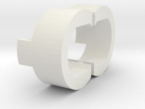 AUG C-Clip Duet in White Natural Versatile Plastic