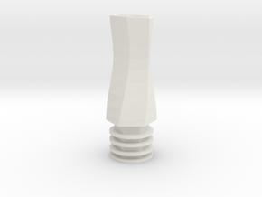 510 Tip Duck Bill Hexagon in White Natural Versatile Plastic