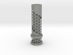 510 Tip Hexagonal Cut out in Gray PA12