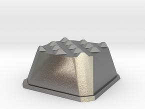 Truffle Shuffle 6 in Natural Silver