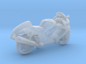 Suzuki Hayabusa  1:120 TT in Smooth Fine Detail Plastic