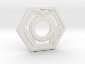 TS100 - garde in White Natural Versatile Plastic