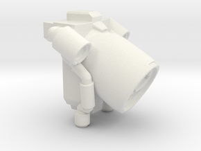 Marine Sci-Fi Jetpack  in White Natural Versatile Plastic