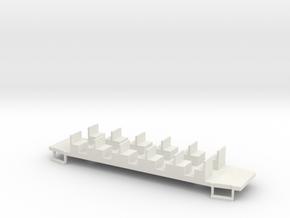 Beiwagen Talbot Juist in White Natural Versatile Plastic