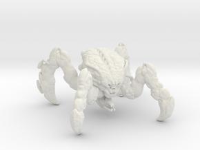 Doom Spider Mastermind 1/60 miniature games small in White Natural Versatile Plastic