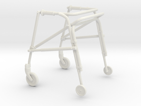 Printle Thing Assistive Walker - 1/24 in White Natural Versatile Plastic