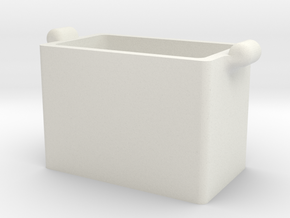 Printle Thing Case 01 - 1/24 in White Natural Versatile Plastic