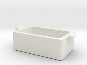 Printle Thing Case 02 - 1/24 in White Natural Versatile Plastic