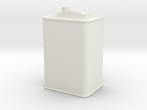 Printle Thing Oil Can 03 - 1/24 in White Natural Versatile Plastic