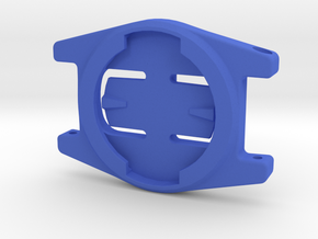 Garmin Edge Watch Mount - 90 Deg in Blue Processed Versatile Plastic