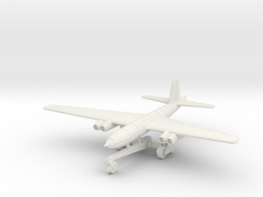 (1:144) Junkers Ju 287B-1 (On Take-off Trolley) in White Natural Versatile Plastic