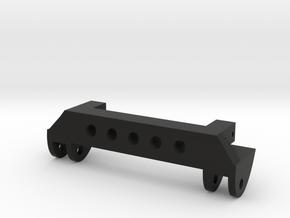SCX10 Front Leaf Spring Hanger V2 in Black Natural Versatile Plastic
