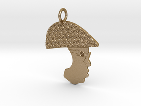 Notorious B.I.G. in Polished Gold Steel