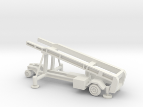 1/87 Scale MK4 Regulus Missile Launcher in White Natural Versatile Plastic