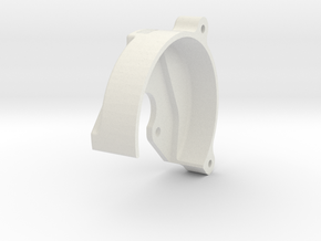 Spur Gear Cover Large in White Natural Versatile Plastic