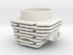 Mach3 engine type cup (body) in White Natural Versatile Plastic