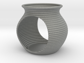 Tealight holder in Gray PA12