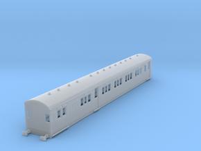 o-148fs-secr-sr-continental-brake-first-coach in Smooth Fine Detail Plastic