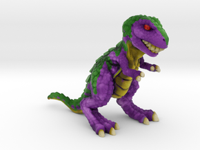 Retrosaur - Upstart, Full Color in Natural Full Color Sandstone: Small