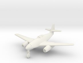 (1:144) Messerschmitt Me 262 Interzeptor I in White Natural Versatile Plastic