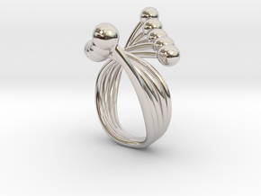 Misun - Bjou Designs in Rhodium Plated Brass