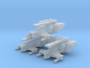 Tau Hammerhead MICRO 3 pack in Smooth Fine Detail Plastic