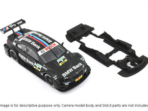 S02-ST3 Chassis for Carrera BMW M3 DTM SSD/LMP in White Strong & Flexible Polished